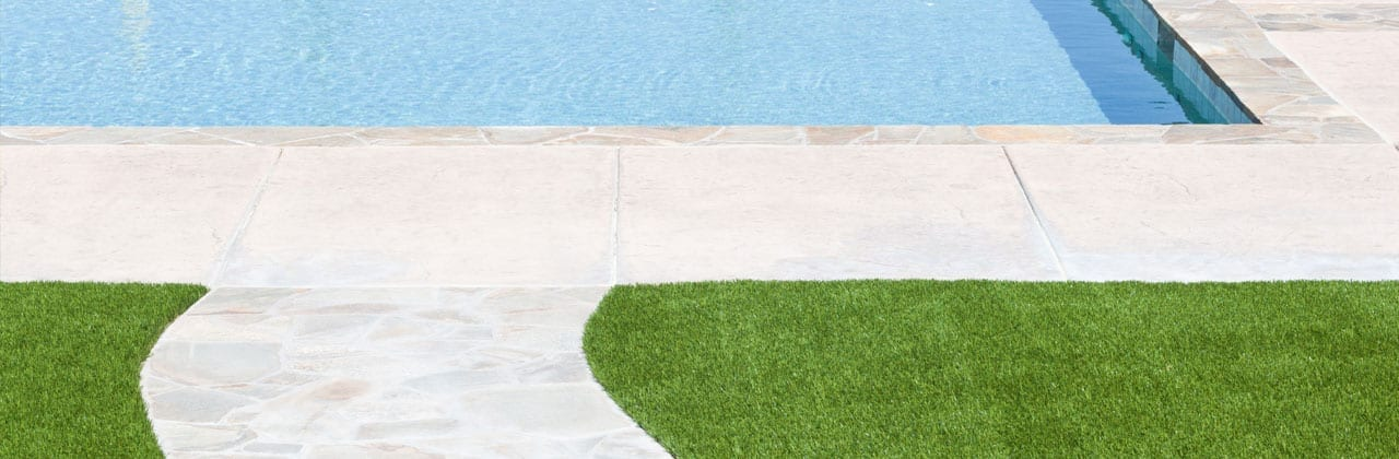 artificial grass eliminates weeds